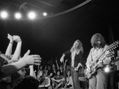 Led Zeppelin performing at Montreux Casino, 1970 #ledzeppelin