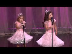 Sophia Grace & Rosie's First Original Song!