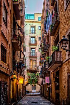 Barcelona, Spain  (by Adam Myszkowski)