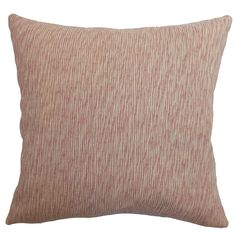 Kaesha Solid Feathered Filled Throw Pillow