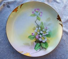 Gorgeous Rosenthal & Pickard Studios of Chicago 1905 Hand Painted from labazaar on Ruby Lane