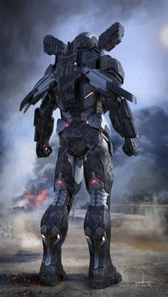 [Infinity War Concept Art] - The final approved for War Machine MkIV by Phil Saunders Marvel Concept Art, Concept Art World, Iron Man Armor, Iron Man Suit, Rougue One, Logo Super Heros, Ps Wallpaper, Stark Industries, Futuristic Armour