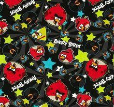 Tecido importado Angry Birds