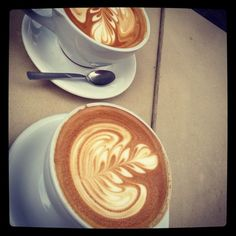 Latte art. I miss this always, just always.