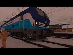 Train Simulator 2017 Vánoční jízda s Vectronem - YouTube