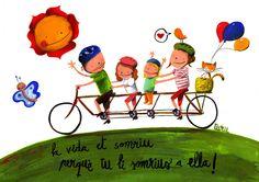 La vida... Turu, Great Words, More Than Words, Decoupage, Illustration, Happy, Quotes, Poster, Inspiration