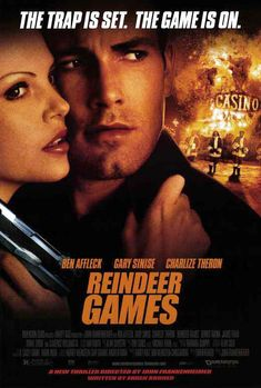 Watch Reindeer Games full hd online Directed by John Frankenheimer. With Ben Affleck, Gary Sinise, Charlize Theron, James Frain. After assuming his dead cellmate's identity to get with the ot Gary Sinise, Reindeer Games, See Movie, Film Movie, Ben Affleck, Charlize Theron, Clarence Williams Iii, Image Film, Reno