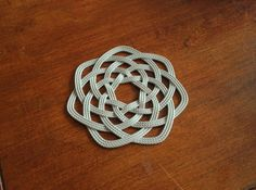 3D-printed Nautical-themed Rope Coaster: I was so excited to come across this because I've been wanting to print something woven but didn't know how it would turn out. Saw it originally in the Instructables 3Dprinting contest: http://www.instructables.com/contest/3dprinting/