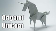 How to make an origami Unicorn, designed by Jo Nakashima (12/jul/2014) Dedicated to Camila Zeymer Difficulty level:intermediate My paper: 20cm x 20cm origami...