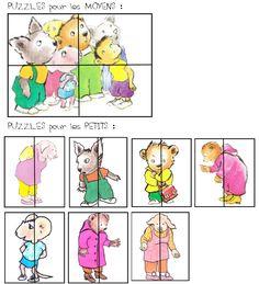 Puzzles Non, non et non ! Petite Section, Puzzles, Have Fun, Preschool, Education, Comics, Books, Non Non, Albums