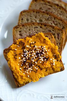 jadłonomia • przepisy wegetariańskie: Najlepsza pasta z marchewki