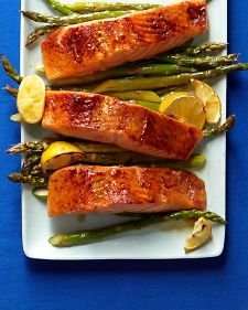 Broiled Salmon and Asparagus ||The Surgery Center Experience|| pinterest.com/casurgerycenter/