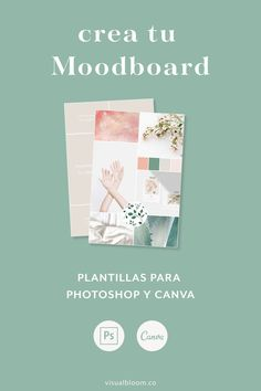 Plantillas de Moodboard para Canva y Photoshop