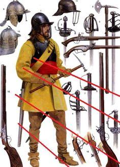mid 17th century English Cavalry