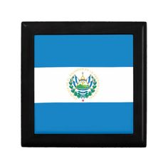 Flag of El Salvador Jewelry Box! #jewelry #keepsake #trinket #boxes #flag #zazzle #store #nations http://www.zazzle.com/flagsbydww25921*