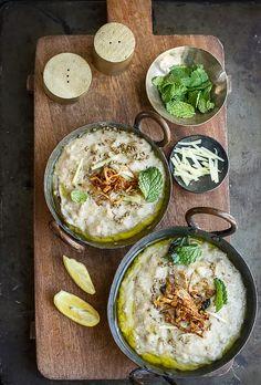 Journey Kitchen: Haleem/Khichda - Wheat berries, Meat and Lentils Porridge