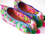 Embroidered Shoes of the Miao Minority