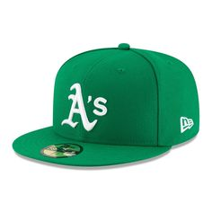 fa586059af40c Men s Oakland Athletics New Era Green Alt Authentic Collection On-Field  59FIFTY Fitted Hat