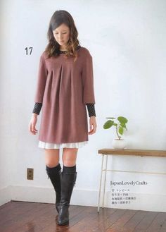 Natural & Lovely Handmade Clothes  Japanese by JapanLovelyCrafts, $21.00