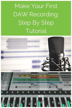 In this video tutorial you learn step by step how to make record audio in Digital Audio Workstation (DAW) software. Start with Audacity, upscale to Reaper. Home Recording Studio Setup, Recording Booth, Audio Post Production, Music Studio Room, Sound Studio, Digital Audio Workstation, Music Software, Recorder Music, Learning