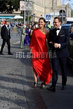 14 June 2018 - Swedish Royals attend Polar Music Prize in Stockholm - dress by Stylein