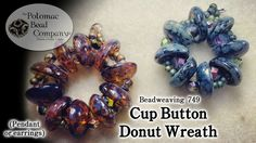 Cup Button Pendant (or earrings)