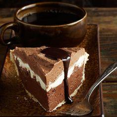 Triple-Chocolate Silk Pie