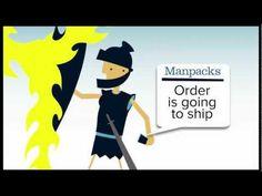 Manpacks - More time to slay dragons. #Startups
