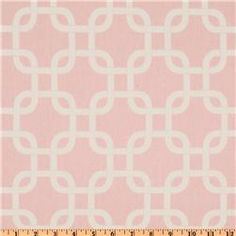 pink curtain fabric