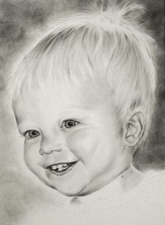 Drawing young children - graphite tutorial