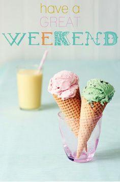 Enjoy the weekend! #weekend