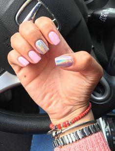 Gelish Nails, Manicure, Trendy Nails, Cute Nails, Gelish Colours, Bubble Nails, Cute Toes, Nail Decorations, Gorgeous Nails