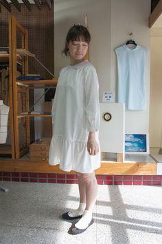 lala  lala wears white lala  ララがホワイトララを着る  #lala #white lala #青空洋服店 #www.cozy-blue-dress.com   white lala  #white lala#青空洋服店 Blue Dresses, Coat, Jackets, Fashion, Down Jackets, Moda, Sewing Coat, Fashion Styles, Peacoats