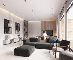 Minimalist, Muted-Colour Home With Scandinavian Influences