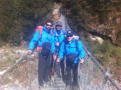 En el Trekking de aclimatación camino de namche Bazaar, en la ruta hacia el campo base del Everest.