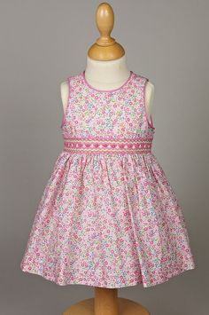 """This dress has a longer bodice than many. I like it for older children as it doesn't have a """"baby"""" shape but is more fitted."""