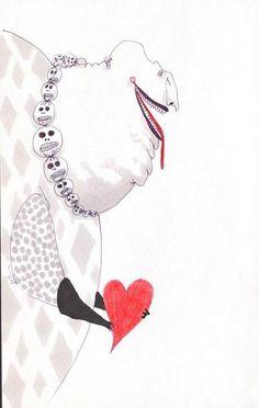 Happy Valentine's Day by Tim Burton Tim Burton Sketches, Tim Burton Drawings, Tim Burton Artwork, Arte Tim Burton, Graphic Design Illustration, Illustration Art, Desenhos Tim Burton, Dark And Twisted, Arte Horror