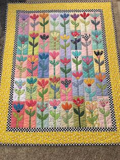 My mom made this quilt