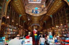 10 Things To Do In Porto (Besides Drink Port) Livraria Lello & Irmão