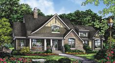 The Kellswater House Plans First Floor Plan - House Plans by Designs Direct.