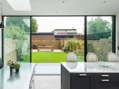Centre parting - Maxlight : Maxlight Sliding Panels, Sliding Doors, Old Fashioned House, Conservatory Kitchen, Back Garden Design, Modern Kitchen Interiors, Georgian Homes, Windows And Doors, Centre