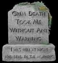 Grim.....