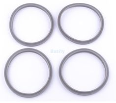 4Pcs Juicer Replacement Rubber Gaskets Milling Pro 900W For Nutri Bullet