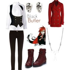 Grell Stucliff from Black Butler