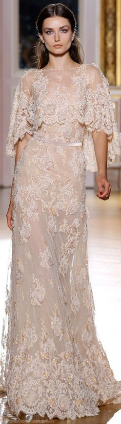 wedding dress wedding dress wedding dress wedding dresses i. Gorgeous gowns from Zuhair Murad Fall/Winter couture coll. Elegant Dresses, Pretty Dresses, Lace Dresses, Couture Dresses, Beautiful Gowns, Beautiful Outfits, Beautiful Flowers, Dress Vestidos, Bridesmaid Dresses