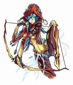 Saryn -Warframe by on DeviantArt Character Concept, Character Art, Concept Art, Character Design, Warframe Art, Futuristic Art, Sci Fi Characters, Monster Girl, Illustrations