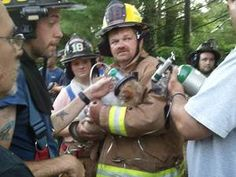 Two dogs saved from a house fire in North Carolina were revived using pet oxygen masks donated through Project Breathe™