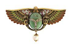 Circa 1800 fine enamel work & delicate jewel accents - Lang Antiques
