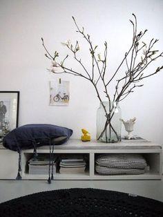 decorar con ramas secas 12