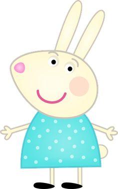 Clipart de Peppa Pig y su Familia. Clipart de Peppa Pig y su Familia. Tortas Peppa Pig, Cumple Peppa Pig, Pig Birthday Cakes, 3rd Birthday, Peppa Pig Images, Aniversario Peppa Pig, Pig Character, Paper Flower Patterns, Pig Party